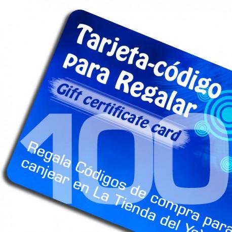 Tarjeta-Código Regalo 100 euros