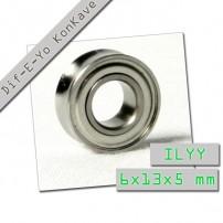 Dif-E-Yo Konkave. ILYY. 6x13x5 mm.