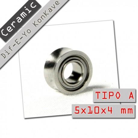 Dif-E-Yo Ceramic KonKave Tipo A. 5x10x4 mm.
