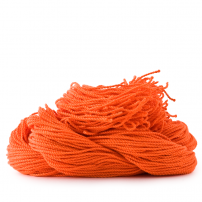sOMEThING. Neon String Type 2. Neon Orange