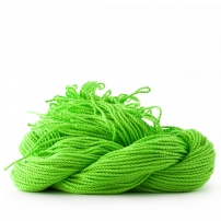 sOMEThING. Neon String Type 2. Neon Green