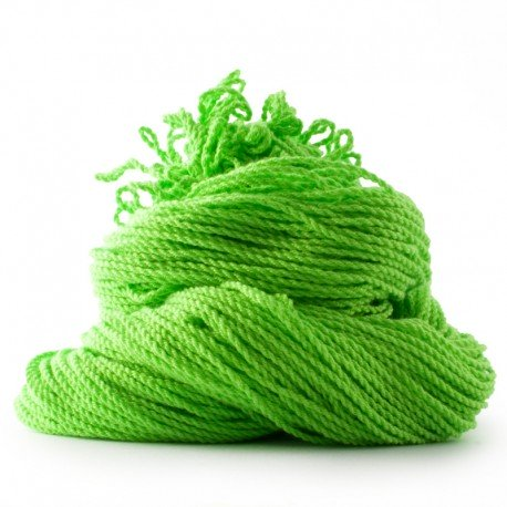 100 Yo-Yo String Type 6. 100% Polyester. Green