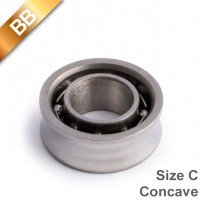 BB Concave Stainless Steel Size C