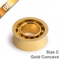 BB Gold Concave 10 BallBearing Size C
