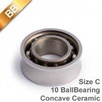 BB Concave Ceramic 10 BallBearing Size C