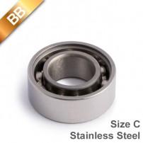 BB Stainless Steel 10 BallBearing Size C
