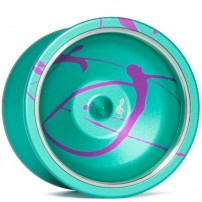 General-Yo Legato Teal/Purple Splash