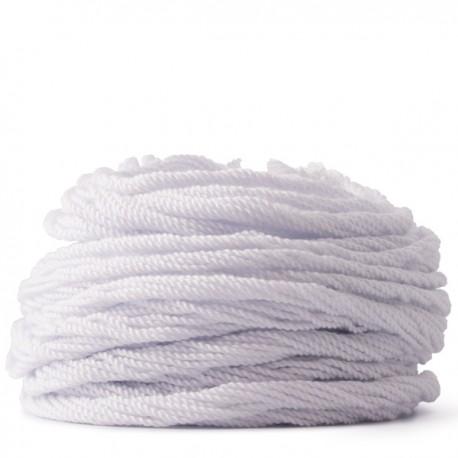 100 Counts Kitty String. NYLON 1.5. White