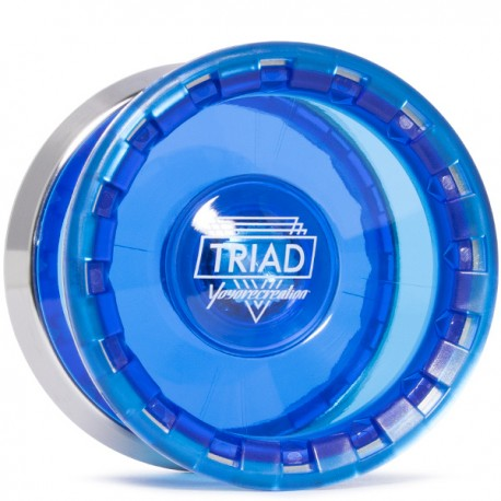 YoYoRecreation Triad Translucent Blue