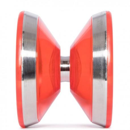 YoYoRecreation Triad Translucent Red SHAPE