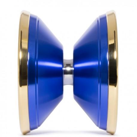 Rebellion Invaders Must Die Blue/Gold Rings SHAPE