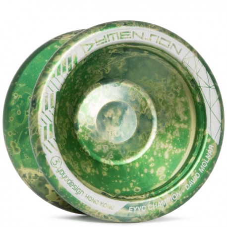C3yoyodesign Dymension Green/Silver/Light Green