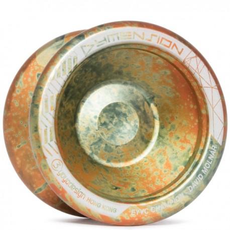 C3yoyodesign Dymension Orange/Silver/Black