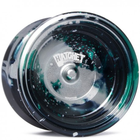 YoYofficer Hatchet 2 Green/Silver/Black