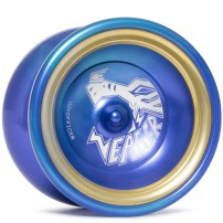YoYofficer Eager Blue/Gold Ring