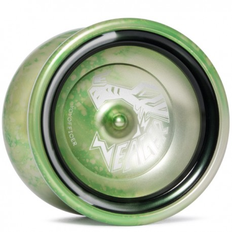 YoYofficer Eager Green/Black Ring