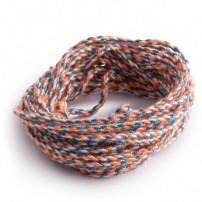 Strings 100% Polyester: Orange-Blue-White