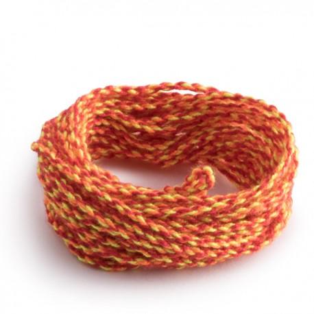 Cuerdas 100% Poliéster: Rojo-Naranja-Amarillo