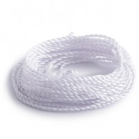 Strings 100% Nylon: White