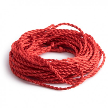 Cuerdas 100% Nylon: Rojo