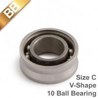 BB 10 BallBearing V-Shape Ceramic Size C