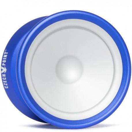 YoYoFactory Czech Point Pivot Blue/Silver Cap