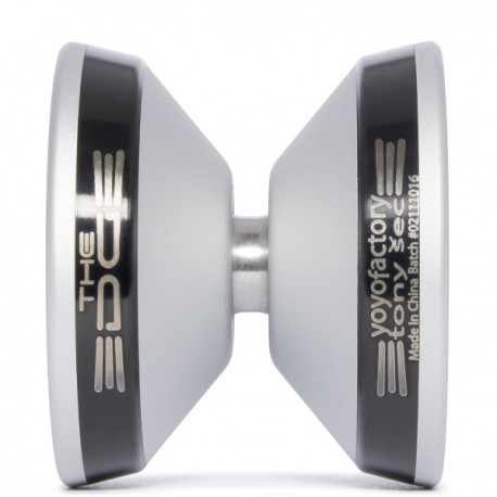 YoYoFactory EDGE Silver/Black (Tony Šec ed.) PERFIL