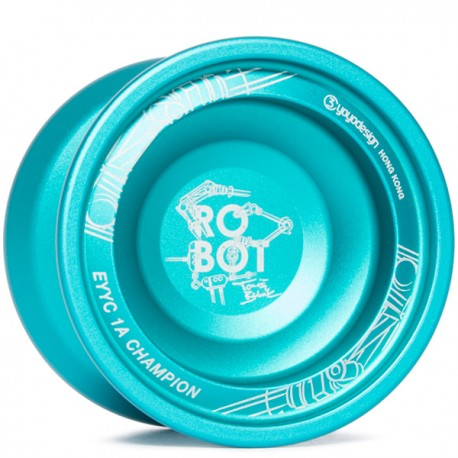 C3yoyodesign Robot Turquoise
