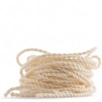 Cuerdas de Yomega 50% algodón/50 pol. Tipo 6. Blancas.