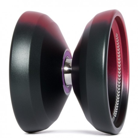 C3YoYoDesign Radius Red/ Grey Fade