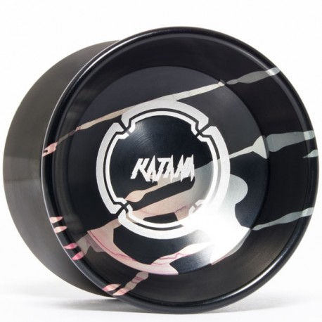 Magicyoyo Katana Black w/ Fade Splash - Black Rings