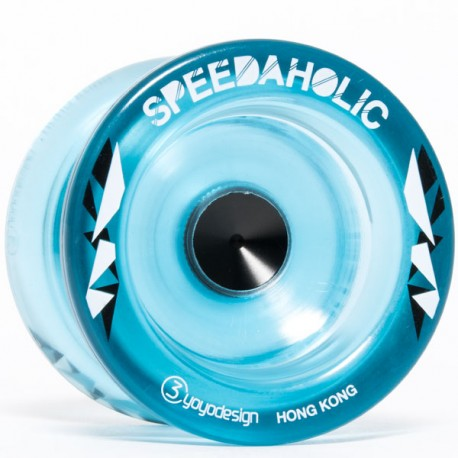 C3yoyodesign Speedaholic Translucent Blue
