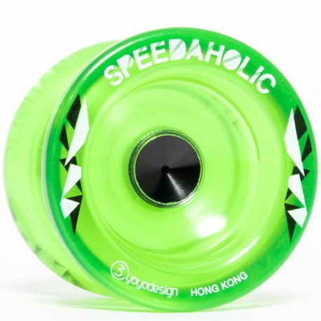 C3yoyodesign Speedaholic Translucent Green