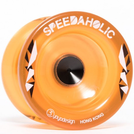 C3yoyodesign Speedaholic Translucent Orange