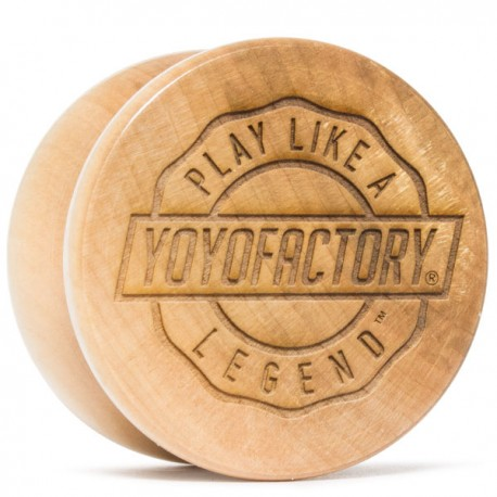 YoYoFactory Legend Clear Lacquer Finish
