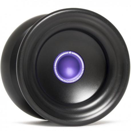 Magicyoyo Delrin Skyva Black w/ Purple Hub