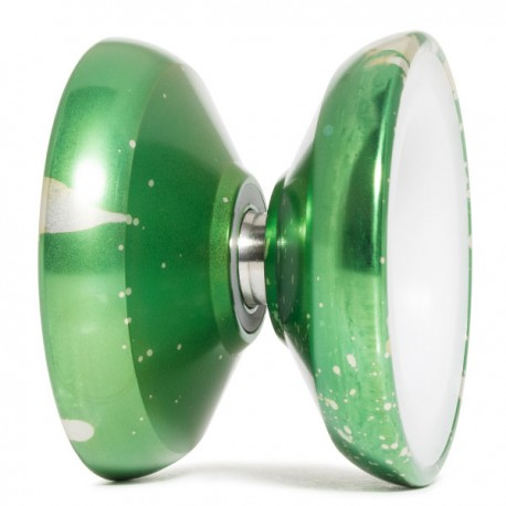 Magicyoyo 7075 Metal Skyva Green / Silver Acid Wash