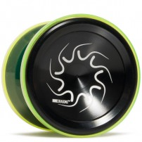 YoYoFactory Nine Dragons Black / Translucent Yellow Shell