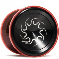 YoYoFactory Nine Dragons Black / Translucent Red Shell