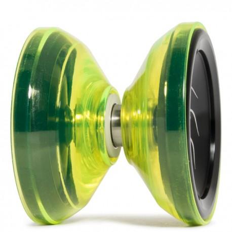 YoYoFactory Nine Dragons Black / Translucent Yellow Shell