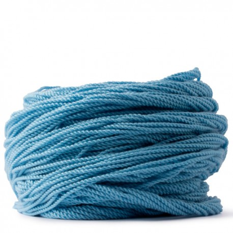 100 Counts Kitty String. NORMAL. Baby Blue