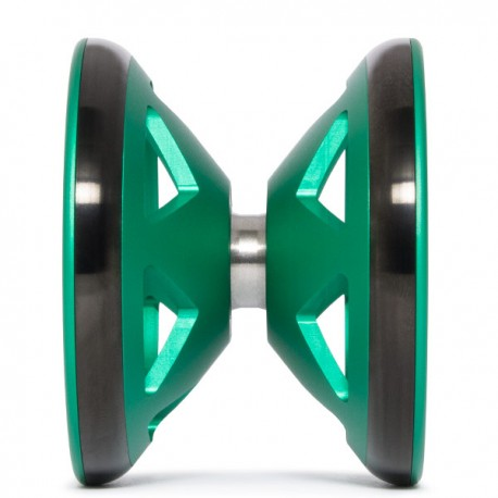 Sengoku Hattori Green & Shiny Black Rims SHAPE
