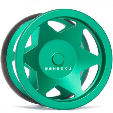 Sengoku Hattori Green & Shiny Black Rims