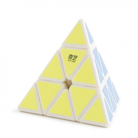 QiYi Qiming Pyraminx A White