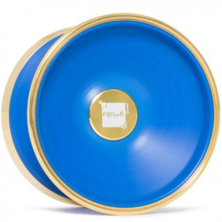 C3yoyodesign Mega Crash Blue / Gold Rings