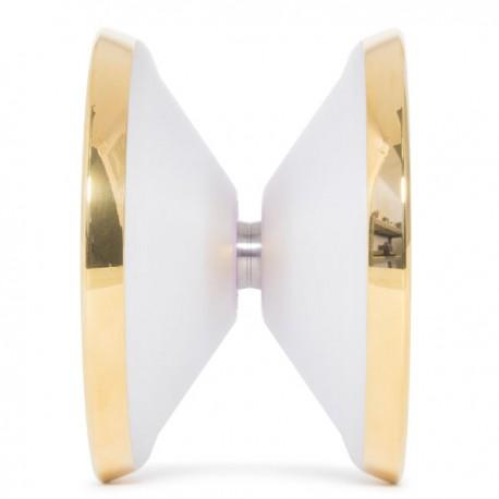 C3yoyodesign Mega Crash Clear / Gold Rings