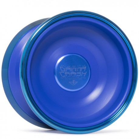 C3yoyodesign Gamma Crash Blue / Blue Rings