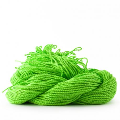 sOMEThING. Neon String Type 2. Neon Green