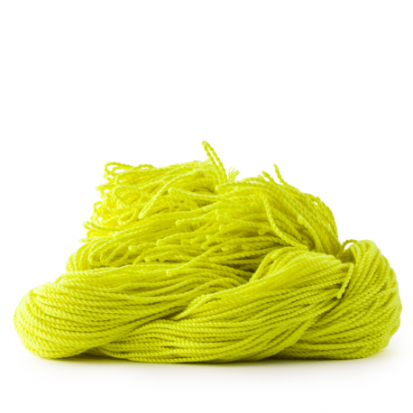 sOMEThING. Neon String Type 2. Neon Yellow