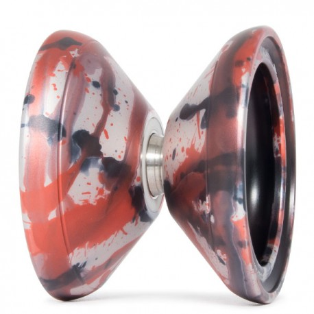 C3yoyodesign Krown Silver / Orange / Black